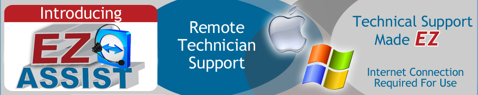 Remote Technician Support with EZ Assist